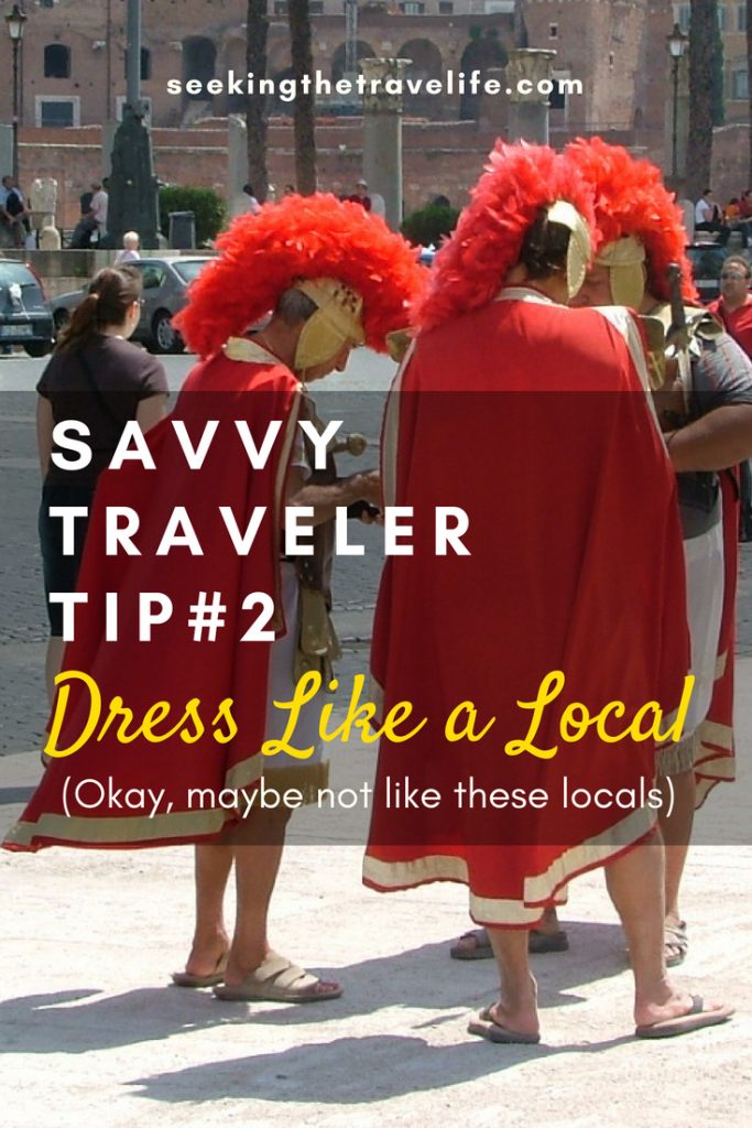How to avoid being a tacky tourist. Tips for being a savvy traveler
